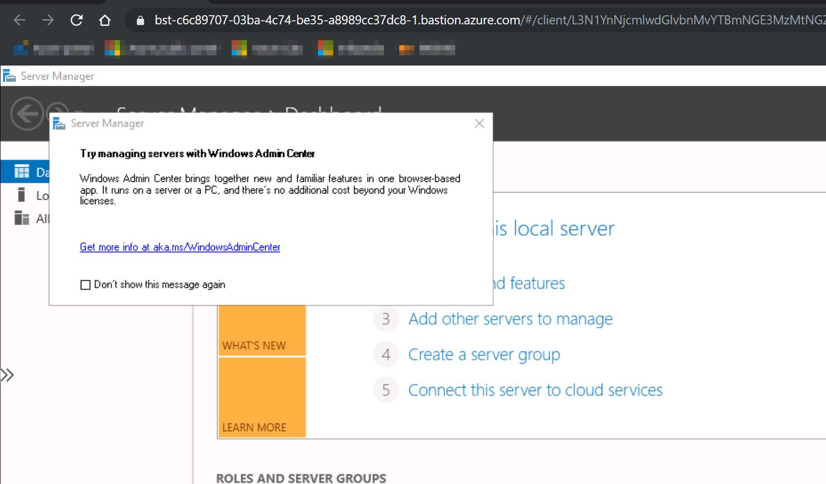 zákaz výběru serveru pro vyhledávání